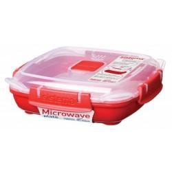 Cutie alimente plastic pentru microunde Sistema 0.44 ml