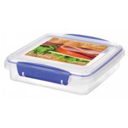 Cutie alimente plastic pentru sandwich Sistema Klip It 450 ml