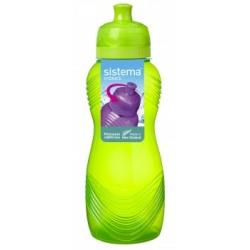 "Sticla din plastic cu capac Sistema Wave TWIST""N SIP 600 ml diverse culori"