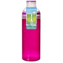 Sticla plastic Sistema Trio 700 ml diverse culori