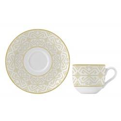 Ceasca si farfurie portelan cafea Versace 19.69 Antichi