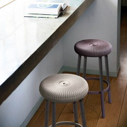 Scaun bar Curver Cozy violet