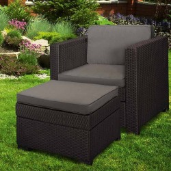 Set mobilier gradina Curver Provence Chillout maro