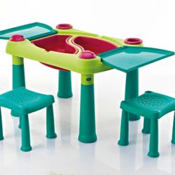 Masuta cu doua scaune pentru copii Curver Creative Play