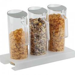 Set APS 7 piese dispenser cereale pentru bar