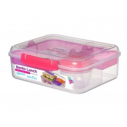 Cutie depozitare alimente Sistema Bento Cube TO GO 1.65 L diverse culori
