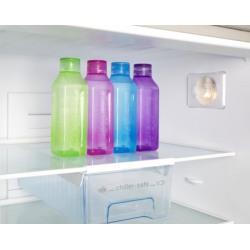 Sticla plastic Sistema Square diverse culori 475 ml