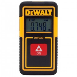 Telemetru laser de buzunar DeWalt 9M - DW030PL