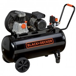 Compresor 100L Black+Decker 3 HP 10 Bar  320L/min - BD 320/100-3M