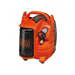 Compresor Black&Decker fara ulei 5L 1,5HP 1,1Kw 8bar 116PSI - BD 195/5-MY
