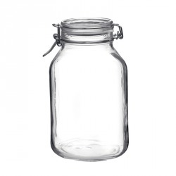 Borcan ermetic din sticla Bormioli Fido diferite marimi