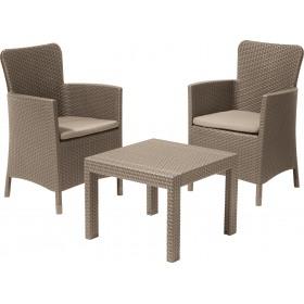 Set mobilier gradina Salvador cappuccino