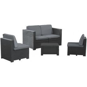 Set mobilier gradina Curver Modus grafit