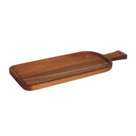 Platou servire rectangular Acacia 36.2 x 13.5 x 1.5 cm