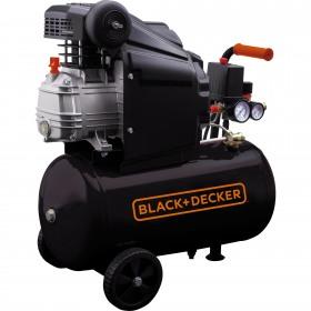 Compresor Black+Decker BD 160/24 orizontal 24L 8Bar 160L/min