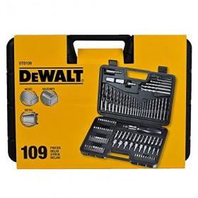 Set 109 accesorii gaurire si insurubare Dewalt - DT0109