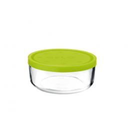 Cutie alimente rotunda Bormioli Gelo Verde 18 cm 1.25 L