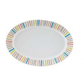 Platou oval portelan Household Color 30 cm