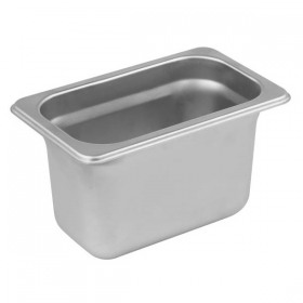 Container inox GN 1/9 Yalco 10 cm
