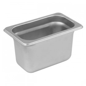 Container inox GN 1/9 Yalco 6.5 cm