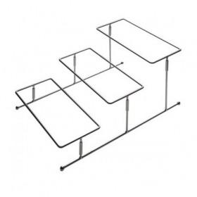 Stand bufet 3 compartimente APS 45.5x32 cm