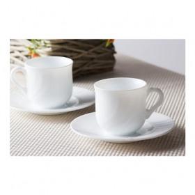 Set cafea opal 6 pers Bormioli Ebro 160 ml