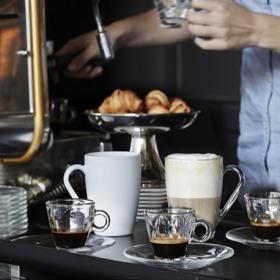 Set 6 cesti sticla espresso Bormioli Kaleido 100 ml