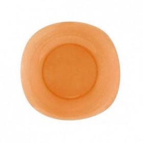 Farfurie desert sticla portocaliu Bormioli Venezia 21 cm
