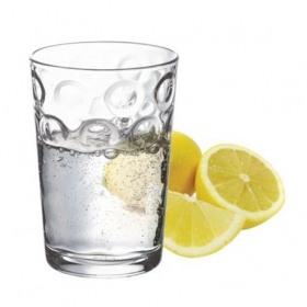 Set 6 pahare apa Pasabahce Rings 205 ml