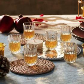 Set 6 pahare lichior RCR Opera 60 ml