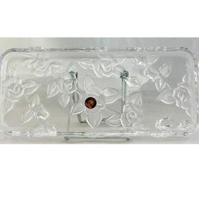 Platou sticla Walther Glass Georgina 35 cm