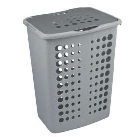 Cos rufe plastic gri Curver Viktor 40 L