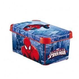 Cutie depozitare Curver Spiderman S 7 L