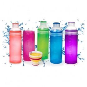 Sticla diverse culori Sistema Trio 700 ml