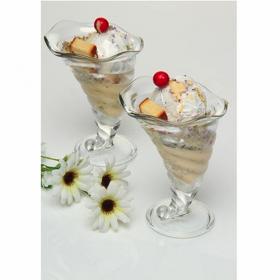 Set 2 cupe desert sticla Bormioli Rocco Fortuna 300 ml