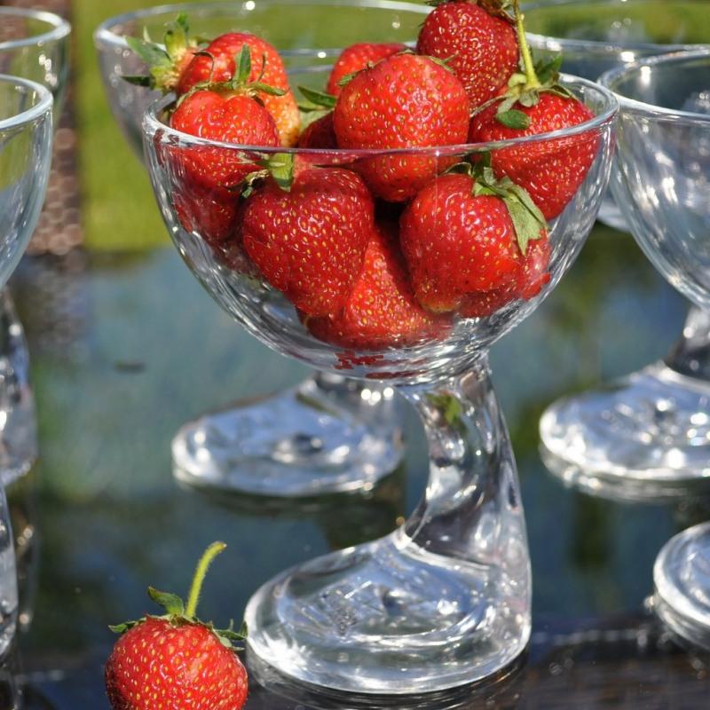 Cupa desert sticla transparent Bormioli Jerba 360 ml