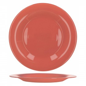 Farfurie intinsa sticla Bormioli Tone Red New Acqua Rosu 27 cm