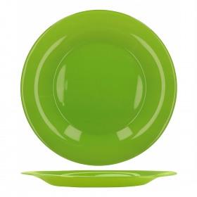 Farfurie intinsa sticla Bormioli Tone Green New Acqua Verde 27 cm