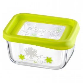 Cutie alimente Bormioli Frigoverre Fun verde 13x10 cm 0.4 l
