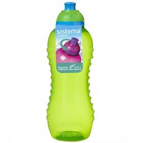 Sticla cu capac Sistema Hydrate Twist'N'Sip 460 ml