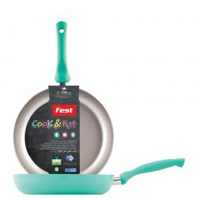 Tigaie antiaderenta teflon Fest Cook&Fun 26 cm