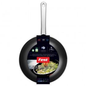 Tigaie wok aluminiu Fest Magic 28 cm