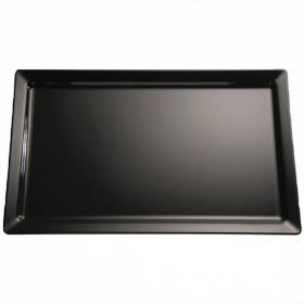 Platou servire rectangular negru APS 32.5 x 26.5 x 3 cm