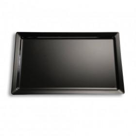 Platou servire rectangular negru APS 32.5 x 17.6 x 3 cm