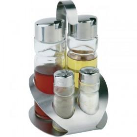 Set oliviera 4 piese cu suport inox APS
