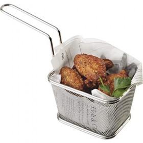 Cos servire cartofi prajiti inox APS 10 x 8.5 x 6.5 cm