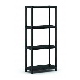 Raft depozitare 4 polite Keter Plus Shelf 60/4 - 80Kg 60x30x135cm