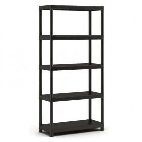 Raft depozitare 5 polite Keter Plus Shelf 90/40/5 - 275Kg 90x40x182cm