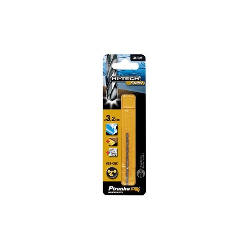 Burghiu Glont Metal 3.2 x 65 mm Black+Decker X51028