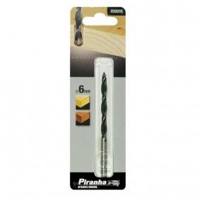 Burghiu pentru lemn Ø6x100mm Black+Decker® - X52016